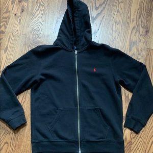 Polo Hooded Sweat Jacket, XL